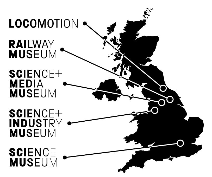 Visita virtual a museos de ciencia de Reino Unido (Science Museum Group)