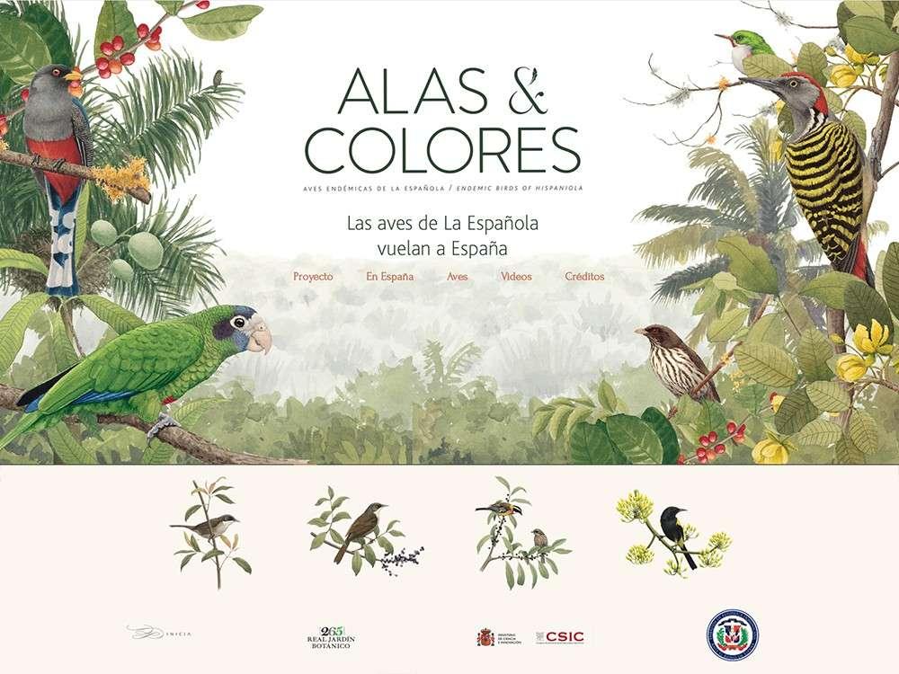 """""""Alas y cortes"""" - Exposición virtual científica y artística"""