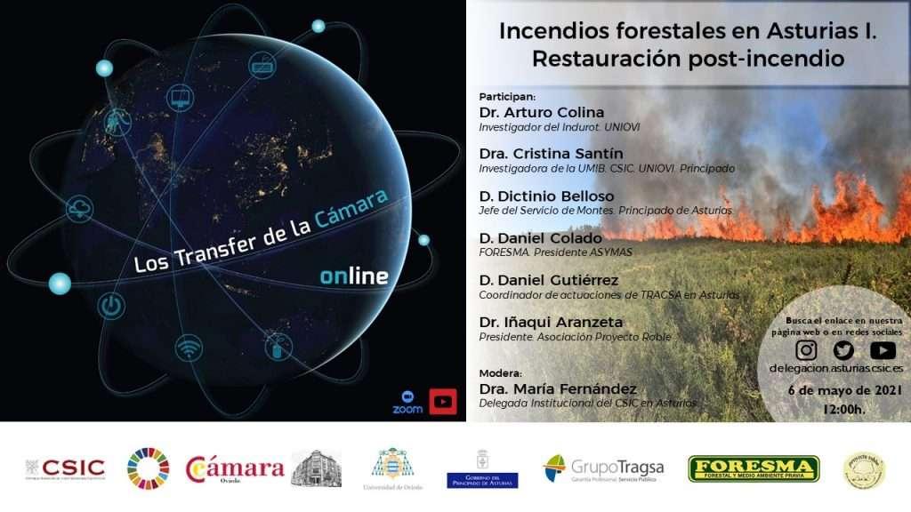 Incendios forestales en Asturias I. Restauración post-incendio.